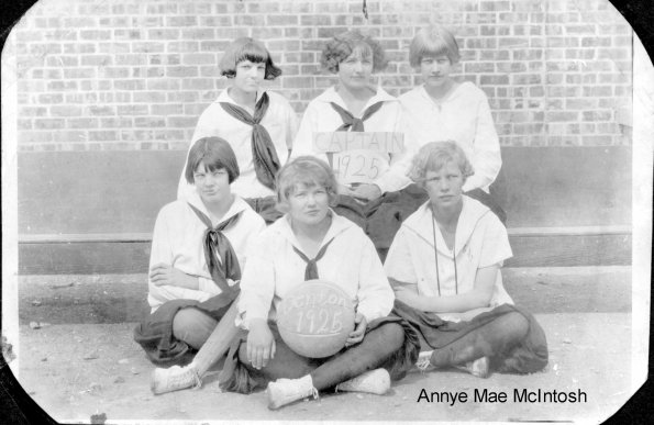 1925 Denton Girls basketball