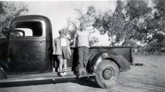 Sharon and Hugh Scott 1950